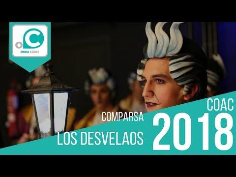 La agrupación Los Desvelaos llega al COAC 2018 en la modalidad de Comparsas. En años anteriores (2017) concursaron en el Teatro Falla como El rinconcito de los milagros, consiguiendo una clasificación en el concurso de Cuartos de final.