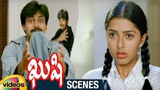 Pawan Kalyan Warned by Bhumika | Best Comedy Scene | Kushi Telugu Movie Scenes | Ali | Mango Videos - MANGOVIDEOS
