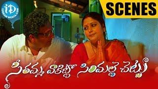 Seethamma Vakitlo Sirimalle Chettu Movie Scenes | Prakash Raj, Jayasudha Introduction Scene - IDREAMMOVIES