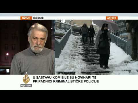 Đorđe Vlajić o istrazi o smrti novinara - Al Jazeera Balkans