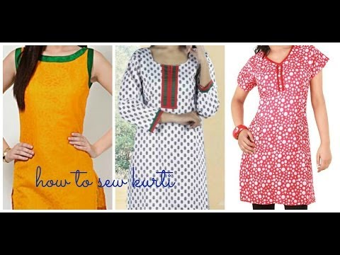 HOW TO SEW KURTI (KAMEEZ) Part 2