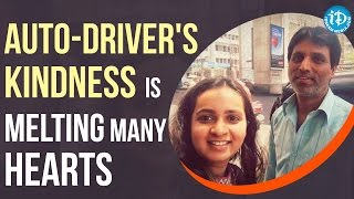 Hyderabad Autowala Is Winning Hearts For Selflessly Helping A Stranger In Need - IDREAMMOVIES