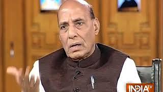 India TV Samvaad: देश में डर का नहीं विश्वास का वातावरण है: राजनाथ सिंह - INDIATV