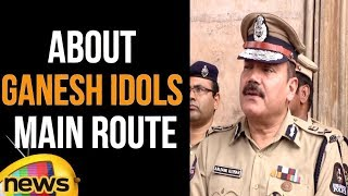Anjani Kumar,IPS about Ganesh Idols Procession Main Route Inspection | Traffic Control Route Map - MANGONEWS