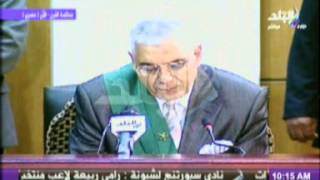 بالفيديو..الرشيدي: حالة مبارك شبه مستقرة ويمكنه حضور الجلسة المقبلة