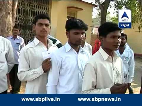 Long queue of voters in Beed, Maharashtra