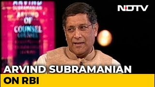 Using RBI Surplus To Fund Deficit Would Be Like Raid: Arvind Subramanian - NDTV