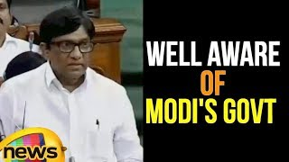 MP Vinod Kumar About Telangana is Well aware of Modi's Govt decision | #NoConfidenceMotion - MANGONEWS