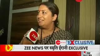 Zee exclusive: In conversation with BJP's leader Smriti Irani - ZEENEWS