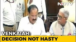 Venkaiah Naidu Defends Move To Reject Chief Justice Impeachment Notice - NDTV