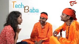 TECH BABA || Telugu Comedy Short Film 2017 || By Manikanth Reddy - TELUGUONE
