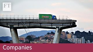 Atlantia under pressure after Genoa bridge collapse - FINANCIALTIMESVIDEOS