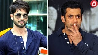 Shahid To Skip 'Padmaavat' Success Party | Salman Amused to Hear His Controversy With Arijit Singh - ZOOMDEKHO