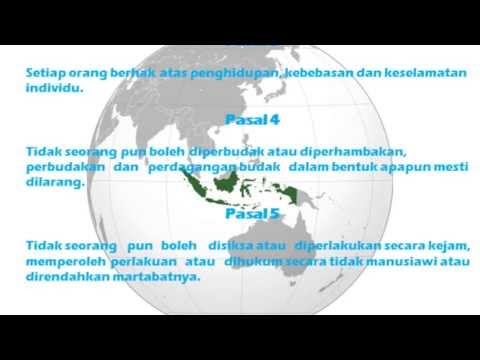 Bahasa Universal Declaration Of Human Rights