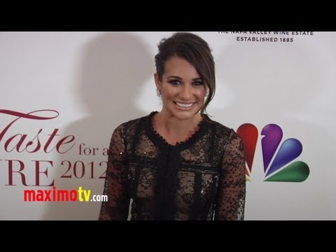 "Lea Michele GLEE at JCCF ""Taste for a Cure"" 2012 Fundraiser Event"