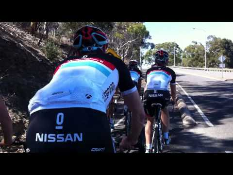 Team RadioShack Leopard Trek at Tour Down Under 2012