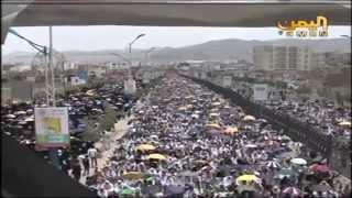 ثوار صنعاء يخرجون في جمعة الدفاع عن الجمهورية والوفاء لشهداء الجيش