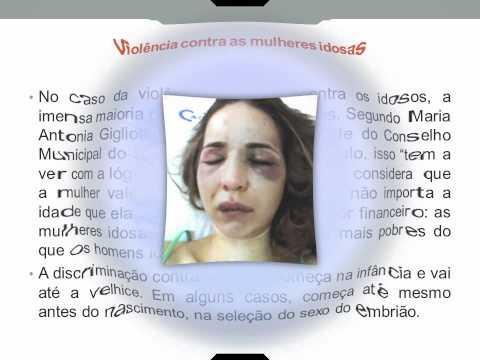 Violência contra a Mulher - Palestra da Prof. Valdinete Fernandes