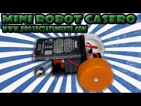 Robot Casero Con Batería de celular (promo)