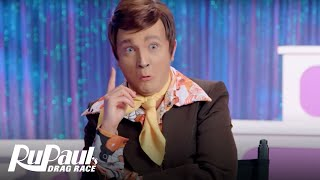 Paul Lynde aka BenDeLaCreme is Back From the Dead | RuPaul's Drag Race All Stars - VH1
