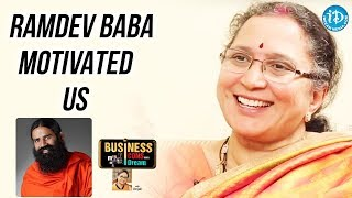 Ramdev Baba Motivated Us - Ramadevi || Business Icons With iDream - IDREAMMOVIES
