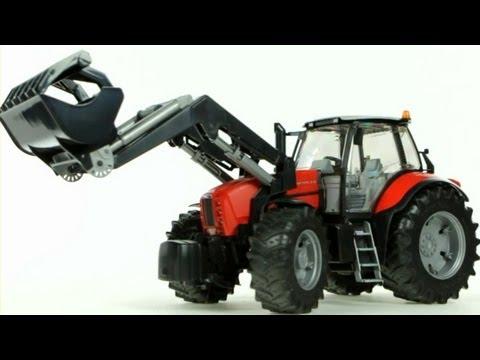 Same Diamond 270 Tractor with Frontloader – Muffin Songs' Oyuncakları Tanıyalım