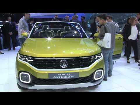 Autoperiskop.cz  – Výjimečný pohled na auta - Autosalon Ženeva 2016 – Volkswagen Tiguan, T-Cross Breeze, Golf GTI Clubsport, Passat GTE Variant – VIDEO