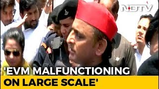 """Digital India"": Akhilesh Yadav's Dig At PM Over Voting Machine Glitch - NDTV"