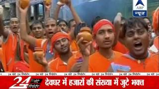 Devotees gather at Lord Shiva temples across India - ABPNEWSTV