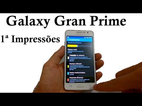 Samsung Galaxy Gran Prime - Primeiras Impressões [Configurações Iniciais]
