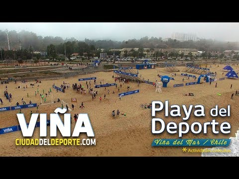 Inauguración Playa del Deporte 2018