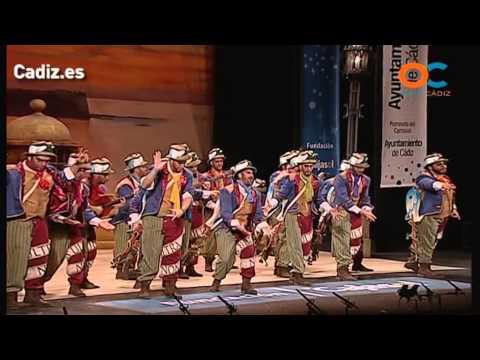 Sesión de Cuartos de final, la agrupación La canción de Cádiz actúa hoy en la modalidad de Comparsas.