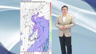 20161226_날씨해설 _ 내일날씨전망, 강원영동대설