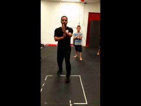 Ving Tsun Kung Fu Footwork Drills: Walking the box