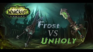 Frost или Unholy? (Legion Beta)