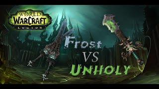 Frost или Unholy? (Legion Beta)