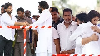 Power Star Pawan Kalyan Hugs Allu Arjun @ Palakollu Janasena Meeting - RAJSHRITELUGU