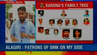 Karunanidhi succession war erupts in DMK; Stalin to visit Karunanidhi's memorial - NEWSXLIVE