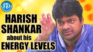 Harish Shankar About His Energy Levels During A Shoot | Subramanyam For Sale Movie - IDREAMMOVIES