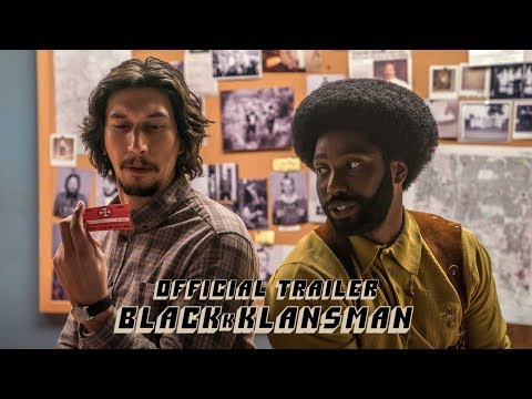 BLACKkKLANSMAN - Official Trailer [HD] - In Theaters August 10 - يوتيوبات