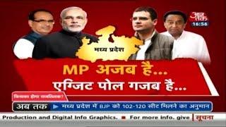 MP अजब है, Exit Poll गजब है! Shivraj के लोकप्रिय होने के बाद भी हारेगी BJP ? Rohit Sardana का Dangal - AAJTAKTV