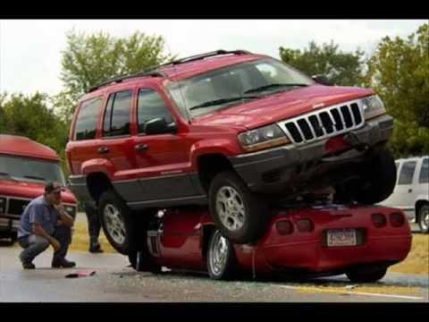 Os acidentes de carro mais loucos da internet