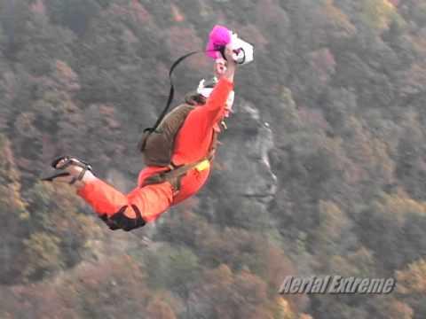 Bridge Day BASE jumping - Aerial Extreme
