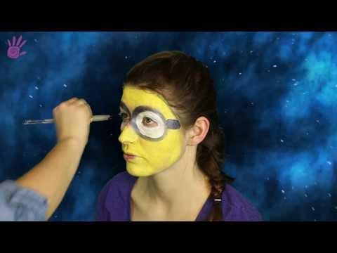 Malowanie buziek, malowanie twarzy # 11 - Minionek