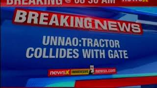 Accident claim: 3 live, 3 injured, Major tractor collides with gate    UNNao    - NEWSXLIVE