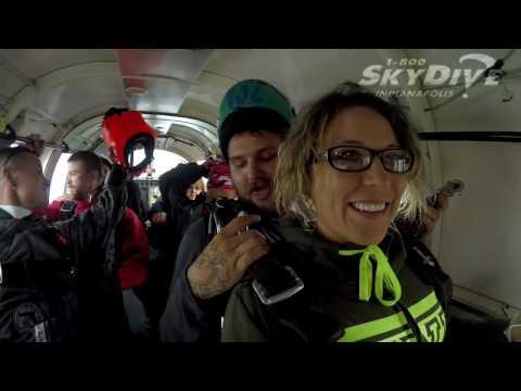 Jessica Funk's Tandem skydive!