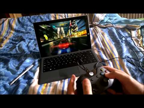 Surface Pro 3 Gaming mit Xbox One Controller