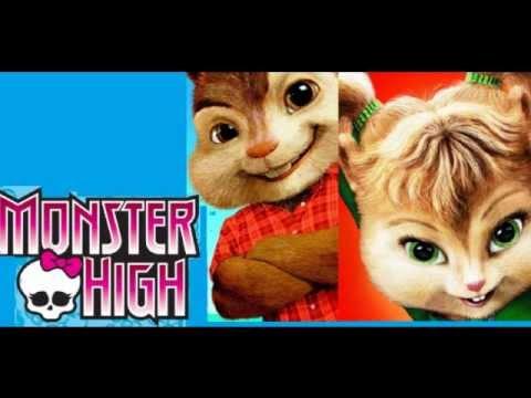 Alvin & wiewiórki - Monster high