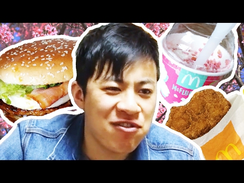 Americans Try Japanese McDonald's
