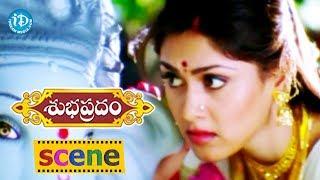 Subhapradam Movie Scenes - Manjari Phadnis Shares Her Love Story With Sarath Babu    Allari Naresh - IDREAMMOVIES